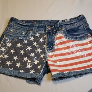 Miss me shorts EUC no rips or stains sz 30